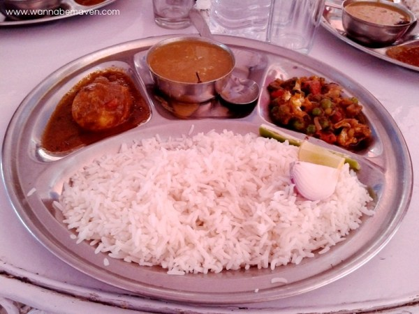 Bengali Thali - Food in Jaisalmer
