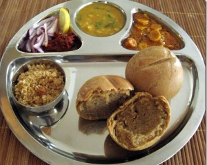 dal bati churma - Rajasthani Food in Jaisalmer