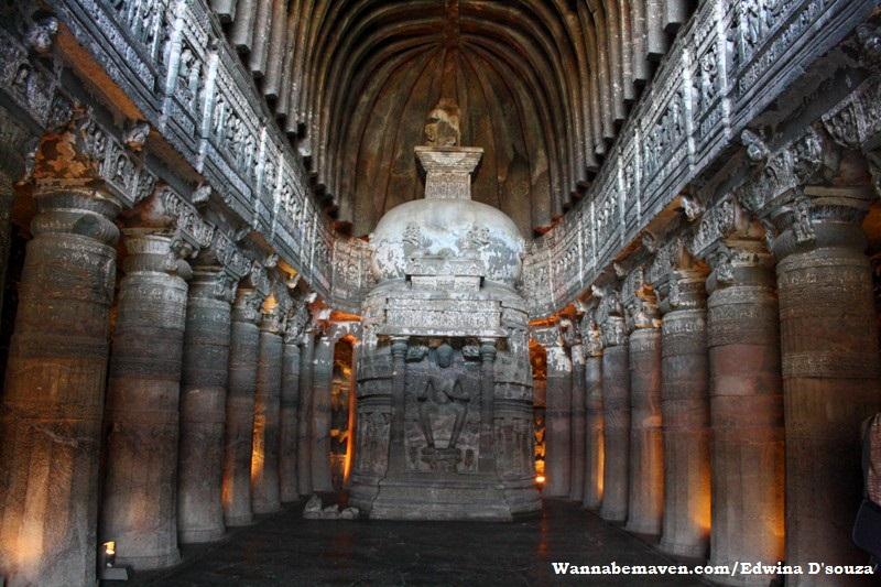 Ajanta caves - chaityagraha - aurangabad - explore aurangabad
