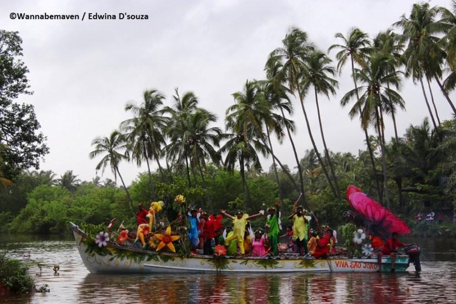 Sao Joao festival Goa - Siolim