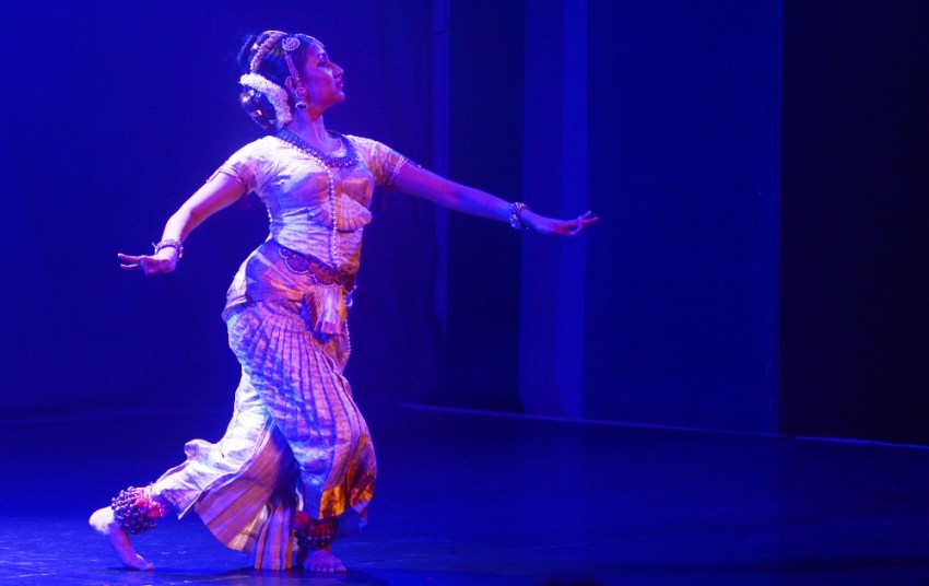 Mumbai arts theatre - Hamsoham Kuchipudi by Bhavana Reddy during the NCPA Mudra Dance Festival 2016 at Experimental Theatre