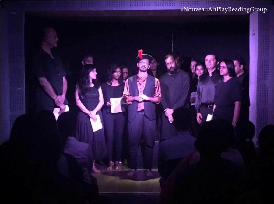 nouveau art play reading group - Mumbai arts theatre