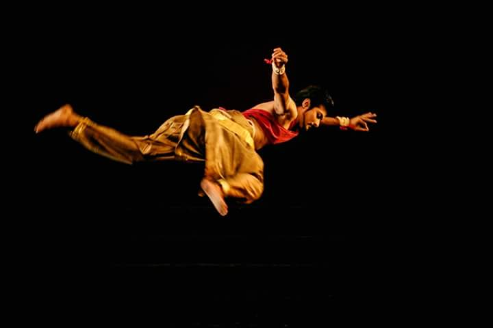 rakesh saibabu - mudra dance festival - Mumbai arts theatre