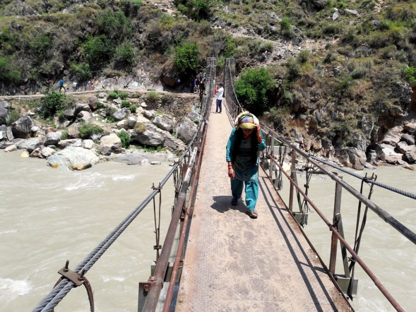 bridge to chalal-himachal-parvati valley backpacking