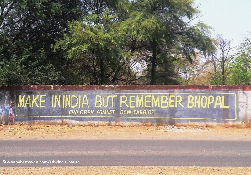 Bhopal gas tragedy monument