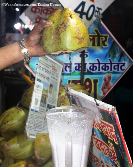Indore food guide - coconut crush