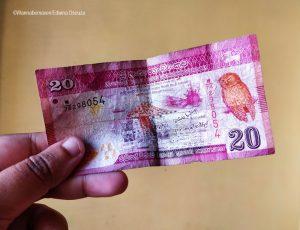 Sri Lanka rupees-backpacking in sri lanka