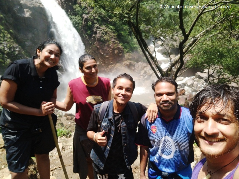 meghalaya travel tips - things to know - rainbow falls