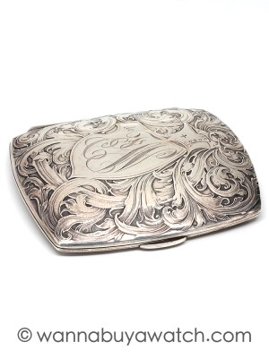 Sterling Silver Card/Cigarette Case