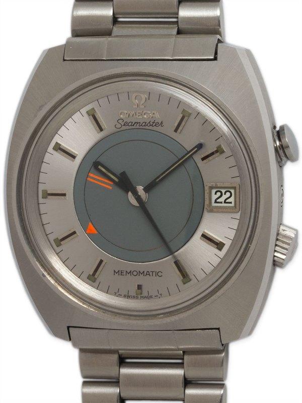 Omega Seamaster Memomatic Alarm circa 1970
