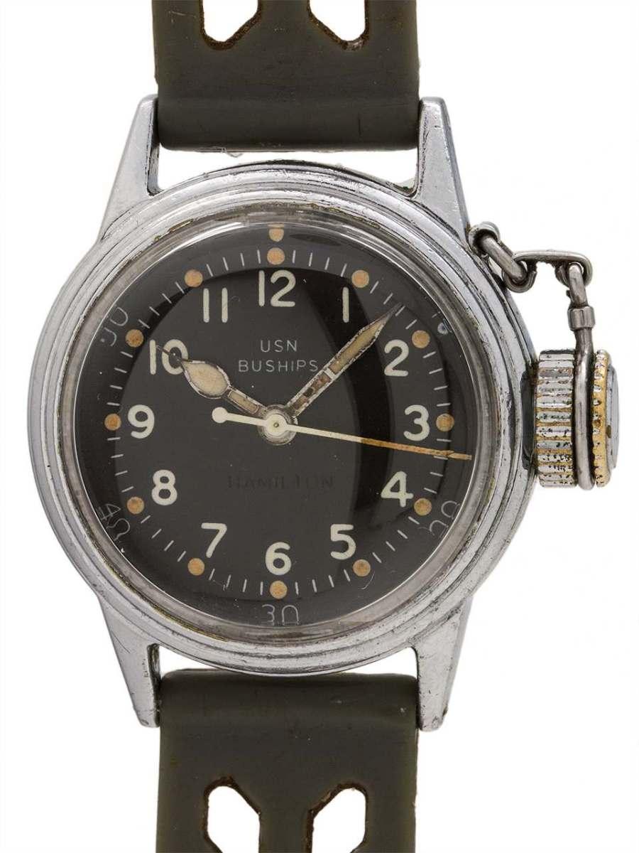 Wanna Buy A Watch Vintage Hamilton Us Navy Buships Ww