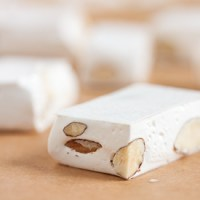 honey almond nougat