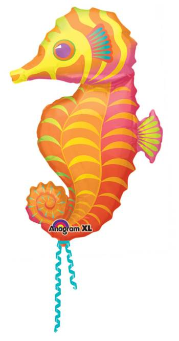 "Seahorse Shape Foil Balloon 35"" P30 -0"