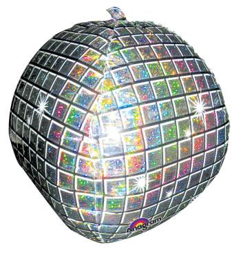 Disco Ball Balloon 15in P45 -0