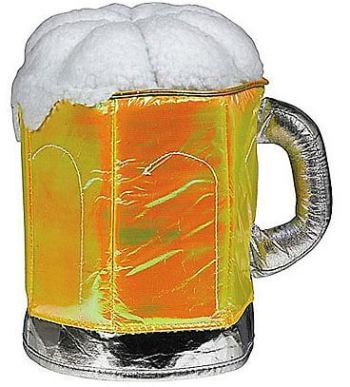 Frothy Beer Mug Hat-0