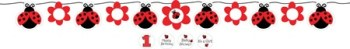 Lady Bug Birthday Banner-0
