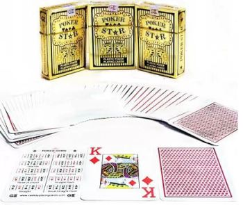 Poker Playing Plastic Cards - 1 PC-0