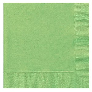 Lunch Napkins Kiwi Green - 50CT-0