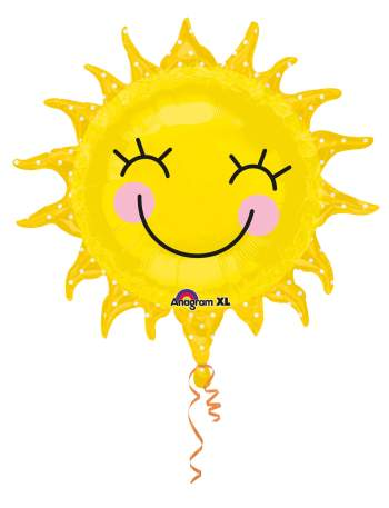 Smiling Sun Balloon 26in P35-0