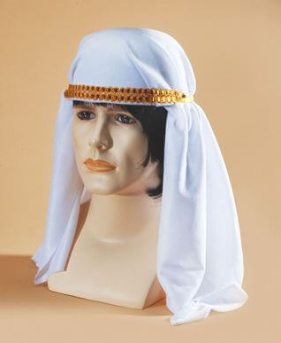 Arabian Sheikh Headdress-0