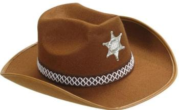 Classic Sheriff Hat Brown-0
