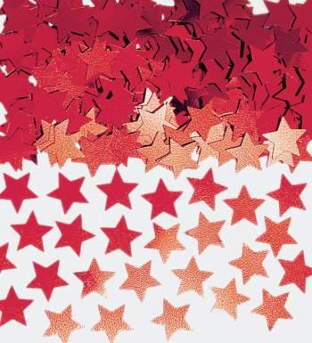 Confetti Mini Star Red 1oz-0