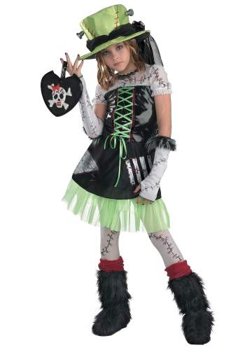 Ghost Costume Kids (Girl)-0