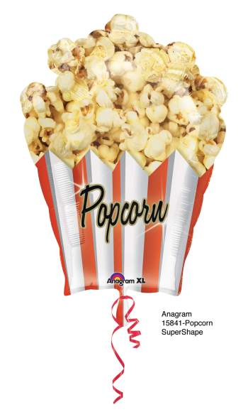 "Popcorn Shaped Balloons 31"" P35-0"