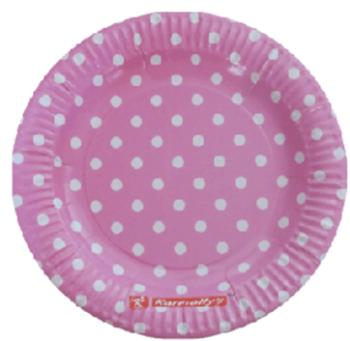 Polka Dot Paper Plates - 10CT-0