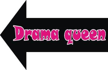 Drama Queen Photo Prop-0