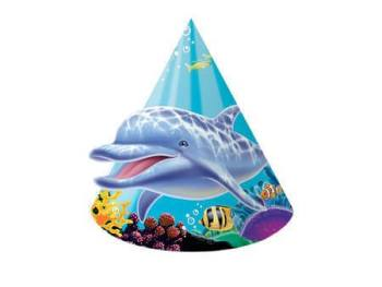 Underwater Theme Party Child Hats - 8CT-0