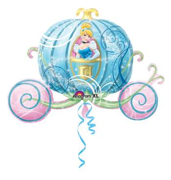 Cindrella Carriage Supershape Balloon P35-0