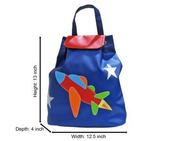 Personalized String Bag-Airplane-0