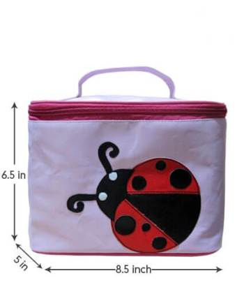 Personalized Travel Pouch-Ladybug-0