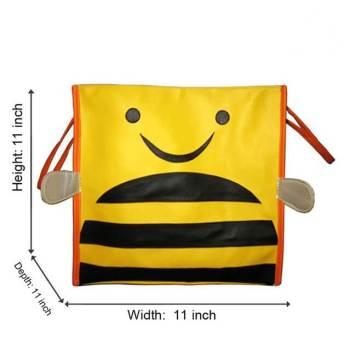 Personalized Storage Bin Without Lid - Honeybee-0