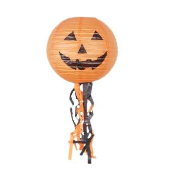 "Halloween Pumpkin Lantern 12"" - 1PC-0"