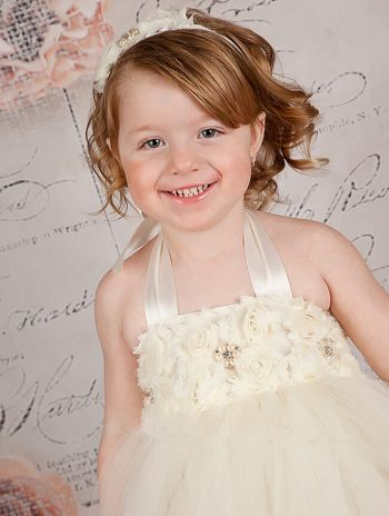 Off White Tutu Dress-0