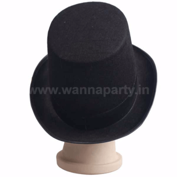 Magician Tall Hat Black-0