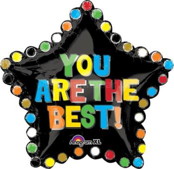 "You Are The Best Star Balloon XL 30"" P35-0"