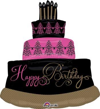 "Faboulous Celebration Cake Balloon 32"" P35-0"