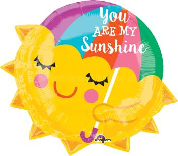 "You're My SunShine Balloons 18"" S55-0"