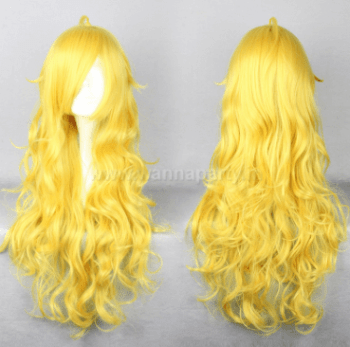 Curly Wig Long - Gold-0