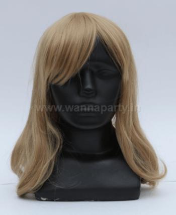 Blonde Wig w/Hair Cap-0