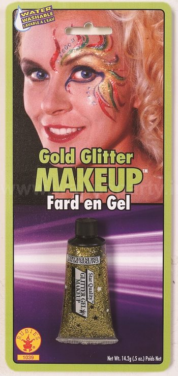 Gold Glitter Gel Make Up-0