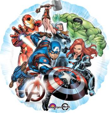 "The Ultimate Avengers Balloon 18""-0"