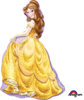 Princess Belle XL Balloon P38-0