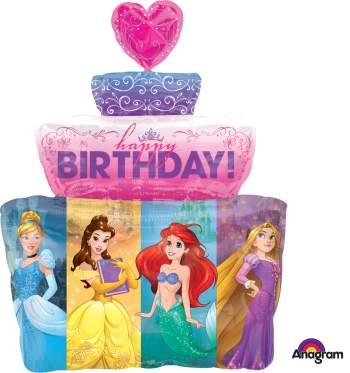 Princess Dream Big Cake Super Shape Balloon P38-0