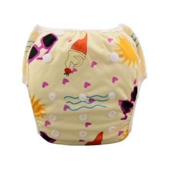 Swim Diaper Ice cream Pattern-0