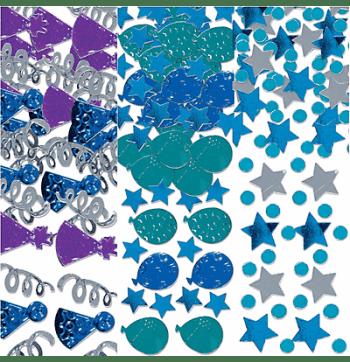 Birthday Celebration Blue Confetti 1.2Oz-0