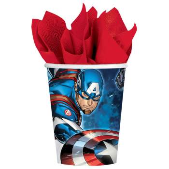 Avengers Paper Cups 9oz - 8PC-0